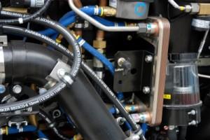 Technik im Erdgasmotor