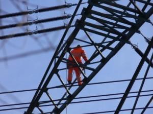 Auch bei der Erzeugung von Energie werden Schadstoffe frei gesetzt